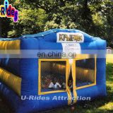 Cuboid inflatable jumping castle inflatable bouncer jumpers kids bounce house for outdoor