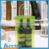 Transparent pvc bags with round bottom for shopping and beverages For Promotional Gifts