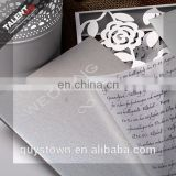 Custom Private Luxurious Invitation Wedding Card