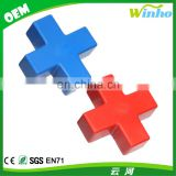 Winho Promotinal PU foam Anti Stress Cross Ball