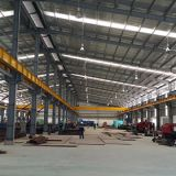 Prefabricated Steel Frame Workshop Building
