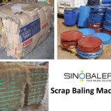 Scrap Baling Machine / Scrap Baling Press