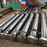 Certificate ISO 14001/28001 Forged Part main Shaft used for heavy forging offshore marine ship