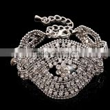 mircon Micro Pave Tube Charm Stone Beads Bracelet full diamond hollow out