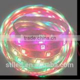 New arrive flexible 5050 ws2812-150 DC 5V 12V 30leds addressable RGB led strip from shenzhen technology co ltd