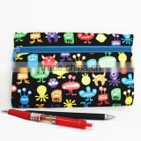 2015 screen printed pencil bag, free sample, best quality best price, soft neoprene material