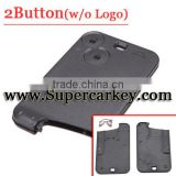 Best quality Replacement 2 Button Remote Key Card Shell Case Fob For Renault Laguna Espace