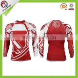 OEM cheap custom sublimation custom printed rash guard mma design wholesale,mma rash guard custom logo                                                                         Quality Choice