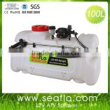 Vehicle-Mounted Sprayer SEAFLO 100L 12V 60PSI Tractor Boom Sprayer For Agriculture