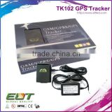 TK102 car vehicle gsm gprs water-proof gps tracker hidden mini online real time tracking device