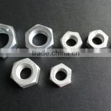 galvanized hex thin nut