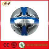 Laser Leather Material football / soccer ball