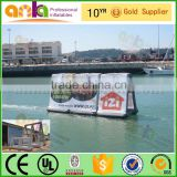 Floating on water air tight inflatable outdoor advertising billboard                                                                         Quality Choice