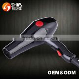 2000w 2 speed setting negative ionic 360 power cord hair dryer professional blow dryer for wholesales SY-6880A