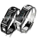 Mini new bluetooth watch bracelet with caller's number,vibrating,anti-lost,anti-theft bluetooth bracelet