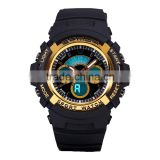 2016 Black Charming Wrist Watch Waterproof With Chronograph And Digital For Men Wholesale Wrist Watch