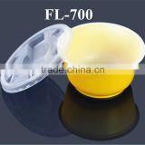 Disposable Plastic Yellow Soup Noodle Bowl for Hot and Cold Soup Packing /Takeaway Tableware                                                                         Quality Choice