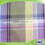 madras cotton plaid fabric for school dress uniform fabric