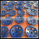 with High Performance 7 inch (180mm) 6 teeth PCD cup grinding wheel for concrete coating removal