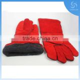 New products cow split leather heat resistant welding gloves for welders