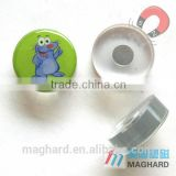 China supplier wholesale customized plastic magnet with ferrite