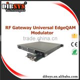 High density Edge IP QAM modulator/ rf modulator 16 channels with udp procotol