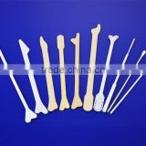 Gynecological supplies disposable plastic vaginal dilator set for examination use