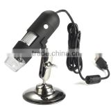 2014 Hot Sell USB Digital Microscope with Holder and Measurement, USB Microscope Software