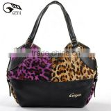 Fashion bags ladies handbags leather animal print handbags