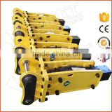 CE approved hydraulic concrete demolition breaker for backhoe loader                                                                         Quality Choice