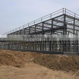 Professional design network frame steel structure factory building engineering of large steel structure installation