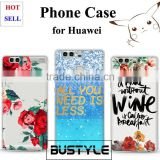 Factory Wholesale Marble Phone Case for Huawei p9 p9 plus p8 lite mate 7 8, Mobile Phone Cover for iPhone 7 6 plus