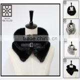 Own Design Fake Fur Scarf with Button