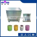 Six Ice Bucket/6 Barrel Automatic Snow Flake Ice maker