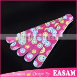 Smell face design nail file,Nail Art Wholesale Abrasive Nail File                                                                         Quality Choice