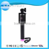 Monopod selfie stick rubber cap for private label mobile phone with E shape and U shape available
