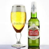 450ml Stella Artois Beer Glasses with Gold Rim,Stella Artois Chalice Glasses,stella artois cup