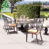 2016 Popular durable patio furniture,royal patio garden furniture,cast aluminium manufacturers