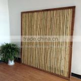 120cmx180cm squared bamboo fence with timber frame for inside home or in the garden with good quality