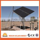 China factory supply wholesale price solar powered submersible deep water well pump