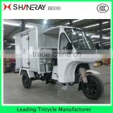 Ice cream Food Coffee Cabin van three wheel cargo motorcycle tricycle Hot sale