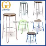 Modern Appearance furniture Metal wire bar stool, iron high stool for sales, counter stool