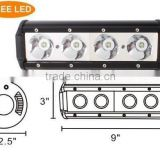 10W each LED,40W CRE LED Work Light Bars,Cre LED Mining Bar,for ATV SUV JEEP Offroad Vehicle(SR-UC10-40A,40W)Spot/Flood/Combo