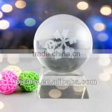 Beautiful and Magical Crystal glass Ball for wedding decoration or gifts