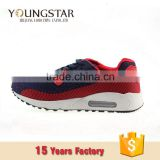 Red high top Sport men sneakers
