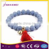 Tested Large Supplier Delicate Matte Synthesis Lapis Lazuli Custom Charm Beaded Bracelet