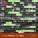 Hot sale new design home decoration self adhesive wall tile stickers mosaic for bathroom decor,kitchen decor