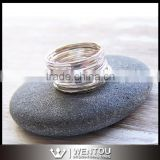 Wholesale 925 Sterling Silver Stack Ring Set