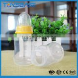 100% food grade non-toxic baby feeder plastic water bottle