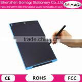 12 Inch Color Kids Electronic Writing Graphic Tablet Memo Pad Paperless LCD Handwriting Tablet for Classroom/Schools